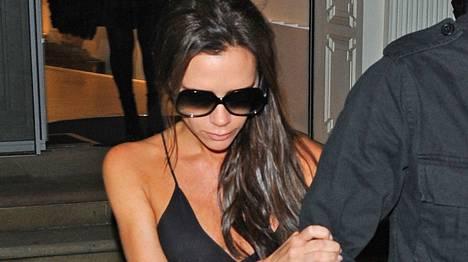 Victoria Beckhamin juhlat päättyivät ikävästi.