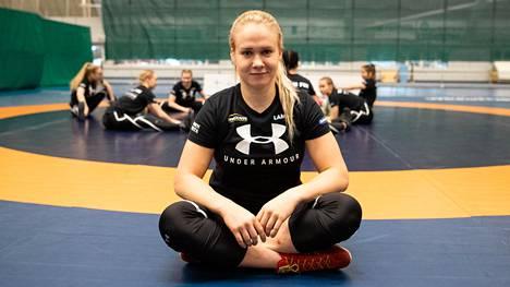 Petra Olli ilmoitti yllättäen päättävänsä uransa 25. helmikuuta. Kuva huhtikuulta.