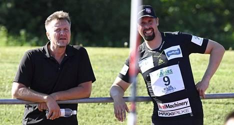 Jyrki Blom ja Antti Ruuskanen