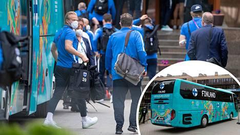 Suomen joukkue palasi pitkältä matkaltaan takaisin Repinoon.