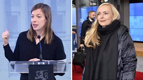 Li Andersson ja Maria Ohisalo ovat valmiita jatkamaan nykyisellä hallituspohjalla.