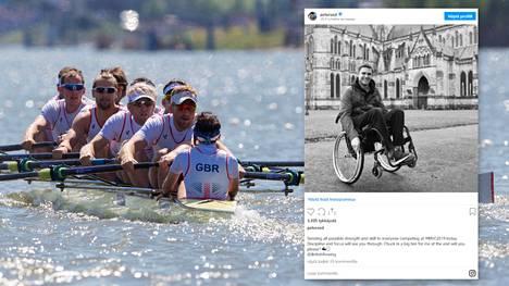 Pete Reed voitti soudussa kolme olympiakultaa. Nykyisin hän ei tiedä, pystyykö enää koskaan kävelemään.