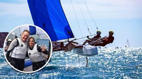 Sinem Kurtbay ja Janne Järvinen varmistivat Suomelle neljännen purjehduksen maapaikan Tokion kesäolympialaisiin.