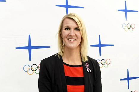 Multala Olympiakomitean puheenjohtajaehdokkaiden kuulemistilaisuudessa keskiviikkona.
