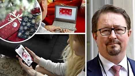 THL:n Mika Salminen kertoo suositukset joulun viettoon.
