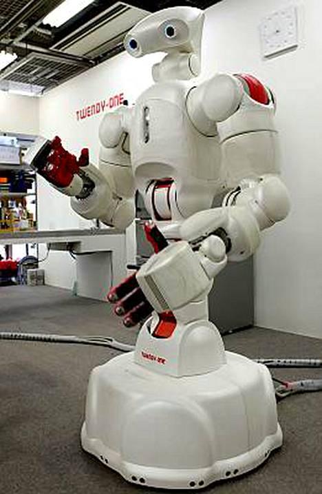 Twendy-One-robottia on kehitetty erityisesti avustamaan vanhuksia.