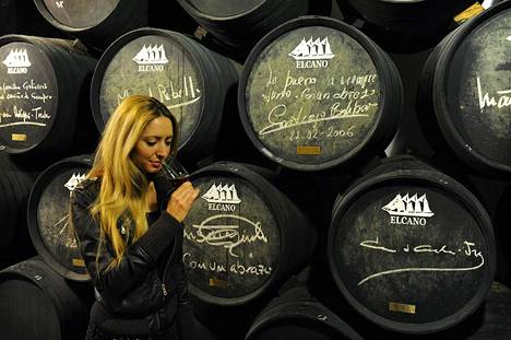 Moniin sherrykellareihin pääsee vieraisille ja maistelemaan.
