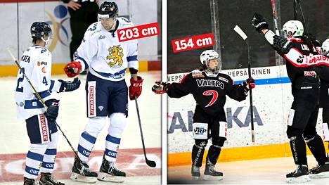 Marko Anttila on pisin talvikisoissa koskaan Suomea edustanut urheilija. Sanni Hakala puolestaan on tämän vuoden joukkueen lyhin urheilija.