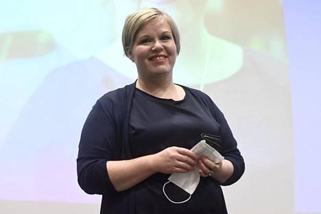 Tiede- ja kulttuuriministeri Annika Saarikko (kesk)
