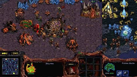 Ensimmäinen Starcraft ilmestyi vuonna 1998.