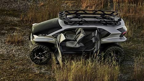 Audi AI:Trail on varustettu neljällä, pyörien lähelle sijoitetulla sähkömoottorilla, joista jokainen pyörittää yhtä pyörää. Järjestelmän maksimiteho on 320 kilowattia ja suurin vääntömomentti 1000 newtonmetriä.