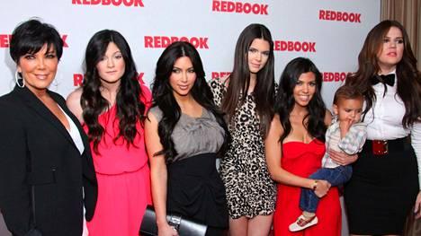 Kardashianit ovat eläneet vaiherikasta elämää.