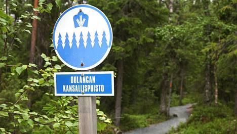 Oulangan kansallispuisto on komea kesällä ja talvella.