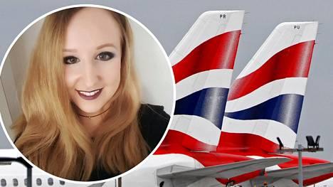 Susanna Ahmed kuuli ystävältään, ettei British Airwaysin Ruotsin-lentoa ollutkaan peruttu.