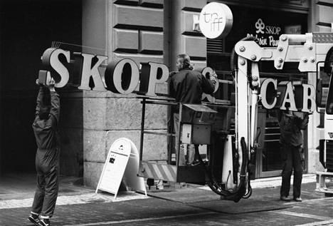 SKOP-pankin haltuunotto oli pankkikriisin tärkeimpiä hetkiä vuonna 1991.