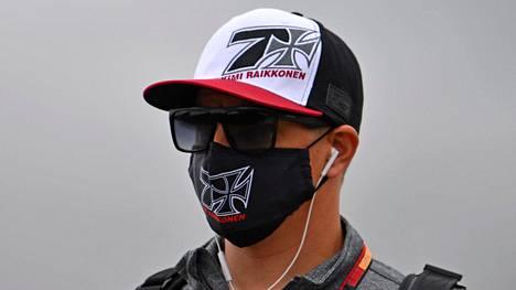 Kimi Räikkönen jäi peränpitäjäksi Silverstonen aika-ajoissa lauantaina.