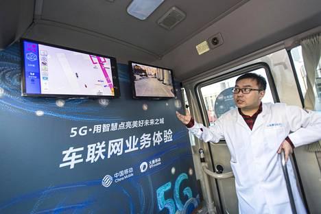 Pyeongchangissa on käytössä 5G-verkko.