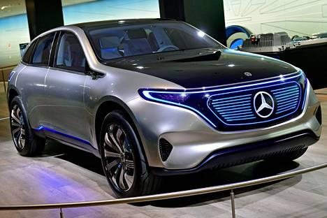 Mercedes-Benzin konsepti EQ.