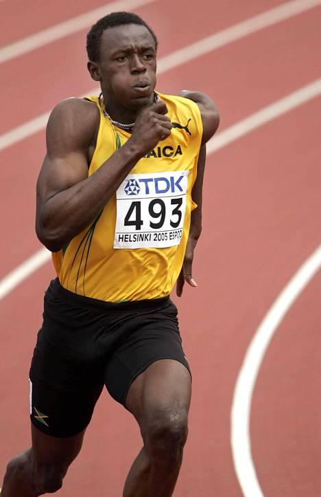 Myös vuoden 2005 Helsingin MM-kisat menivät Usain Boltilta loukkaantumisen vuoksi pieleen. Hän eteni 200 metrillä finaaliin, mutta jäi siinä viimeiseksi lihaskrampin seurauksena.