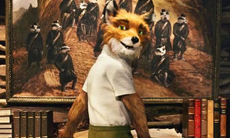Mr.Foxin äänenä George Clooney.