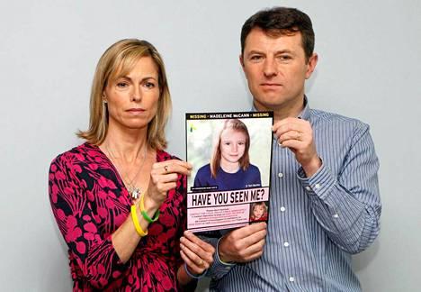 Kate ja Gerry McCann julkaisivat Madeleinesta toissa vuonna kuvan, joka on käsitelty esittämään tyttöä viisi vuotta vanhempana.