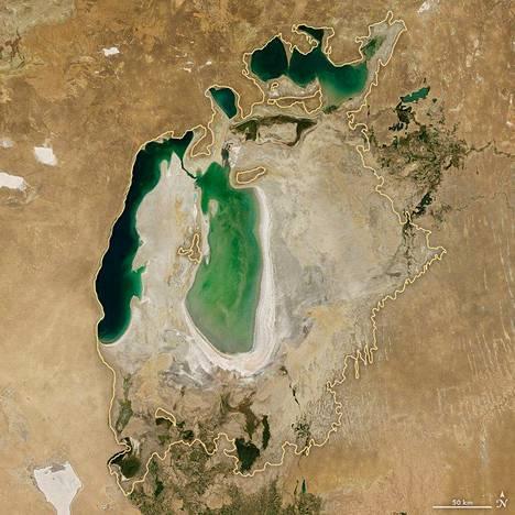 Araljärvi vuonna 2006.