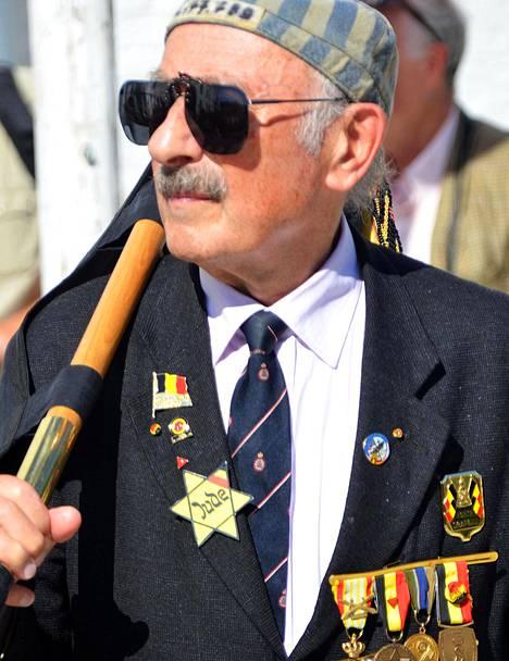 Henri Kichka osallistui aktiivisesti toisen maailmansodan päättymisen muistotilaisuuksiin.