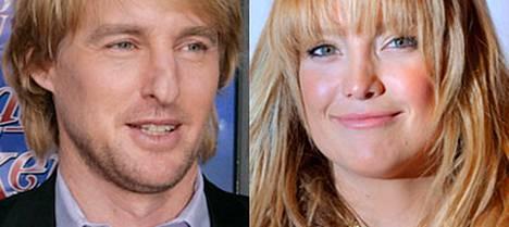 Kate Hudson ja Owen Wilson seurustelivat muutamaan otteeseen.