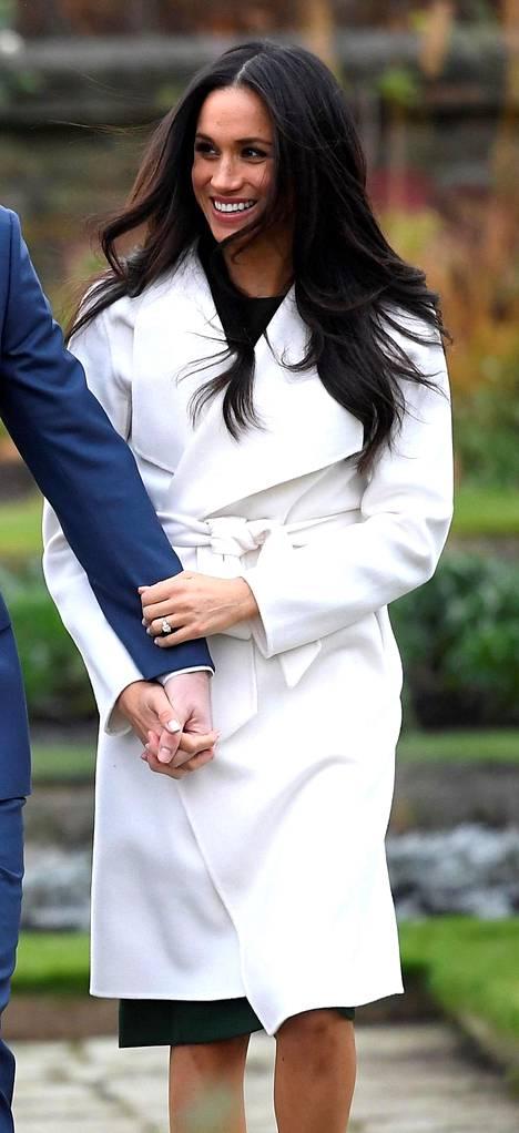 Meghan Kensingtonin palatsin puutarhassa marraskuussa 2017.
