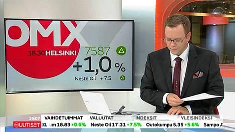 Antti Tuurilla kävi huono tuuri Seitsemän uutisissa maanantaina.