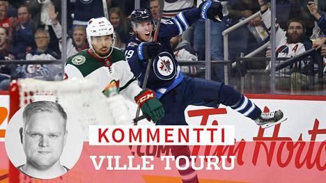 Jos NHL-kautta päästään jatkamaan, Patrik Laineen Winnipeg kohtaa pudotuspelien karsintakierroksella Calgaryn.