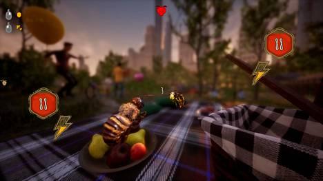 Mehiläiset joutuvat myös taistelemaan. Tämä on tehty helpoksi.