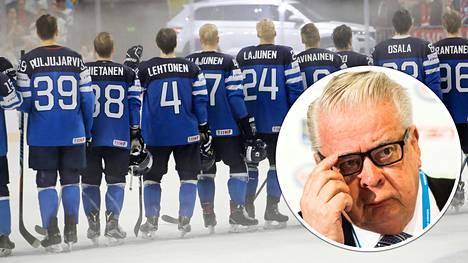 Suomen MM-joukkueessa pelasi keväällä 2017 seitsemän NHL-pelaajaa.