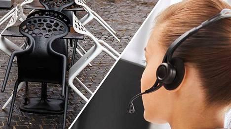 Yleisimmin kesätyöntekijät joutuvat hankaliin tilanteisiin esimerkiksi ulkokahviloissa ja puhelinmyyntifirmoissa.