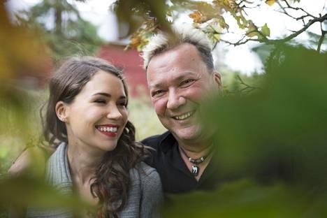 Sari Aalto on saanut isältään tukea urallaan.