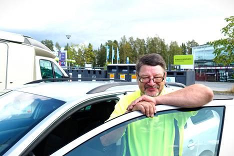 Hannu Miettinen kertoo, että vaikka olisi voittanut 1,8 miljoonaa euroa, auto ei olisi vaihtunut.
