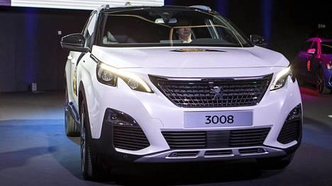 Peugeot 3008 sai Vuoden auto -tittelin Genevessä maaliskuussa 2017.