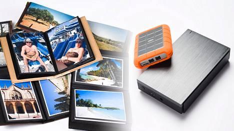 Kuviat kannattaa tallentaa useampaan paikkaan, kuten printteinä valokuva-albumiin ja parille eri kovalevylle.