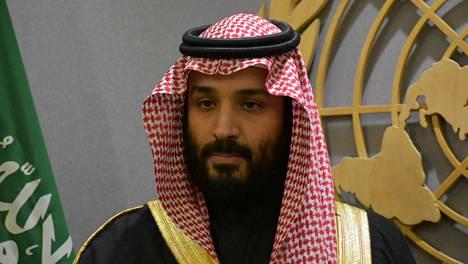Saad al-Jabri pakeni kotimaastaan Mohammed bin Salmanin noustua maan kruununprinssiksi vuonna 2017. Kuva kruununprinssistä parin vuoden takaa.