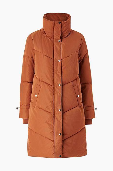 Ruosteenpunainen takki näyttää ihanalta syksyllä, 79,95 €, Ellos.