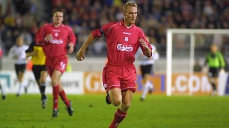 Sami Hyypiä pelasi uransa huippuvuodet Liverpoolin paidassa.