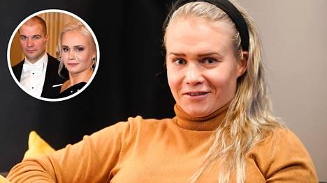 Petra Olli kertoi, että puoliso Indrek Vassus on ollut tärkeänä tukena sen jälkeen, kun Olli lopetti menestyksekkään painiuransa.