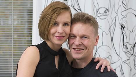 Kuvassa Heidi ja Toni vuonna 2017.