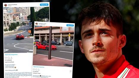 Leclerc pääsi kuin pääsikin ajamaan Monacossa, vaikka F1-osakilpailua ei viikonloppuna nähtykään.