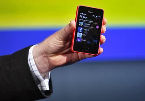 Nokia suunnitteli kehittyville markkinoilla suunnattuihin Asha-puhelimiin Androidiin pohjautuvaa käyttöjärjestelmää.