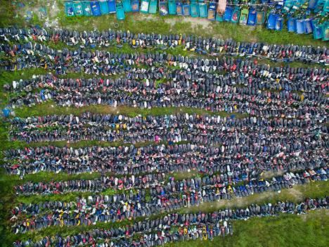 """Kaksipyöräisten ajoneuvojen määrää Hangzhoun """"hautausmaalla"""" on vaikea arvioida."""