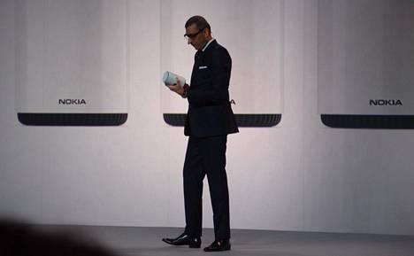Nokian Rajeev Suri helmikuussa 2018.