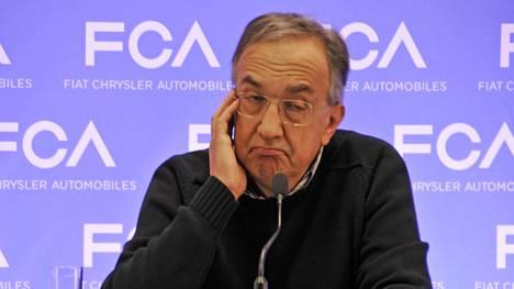 Fiat-Chrysler-yhtymän ja Ferrarin toimitusjohtaja Sergio Marchionne.
