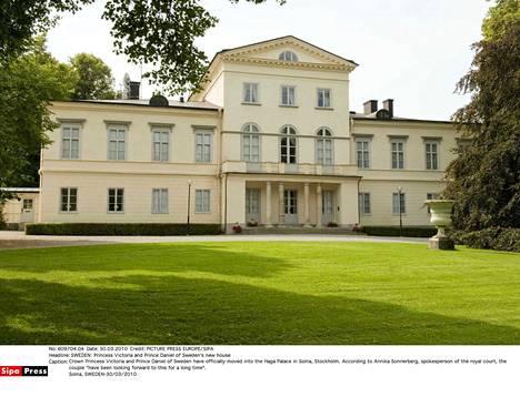 Kuvassa Hagan linna, joka on virallinen kruununprinsessan koti talvikuukausina.