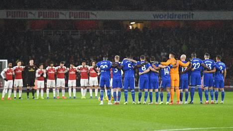 Cardiffin ja Arsenalin pelissä pidettiin minuutin hiljaisuus Emiliano Salan kunniaksi tiistai-iltana.